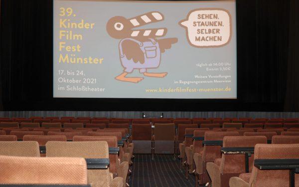 Foto: Noch leer – der große Saal im Schloßtheater